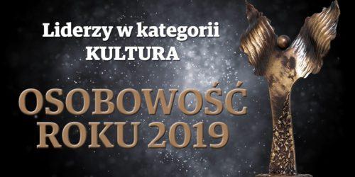 """Longina Malinowski zwyciężczyni plebiscytu """"Osobowość roku 2019"""" w kategorii Kultura"""